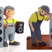 Nubi, Maskottchen der Nubert Electronic GmbH
