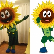 Sonnenblume Bea der Berliner Satdtgüter