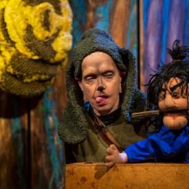 Die Bienenkönigin, hier : Wally Schmidt, Foto: Karin Stöhr, Bildrechte: Theater Salz+Pfeffer, Nürnberg
