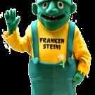 Maskottchen Walking act Frankenstein